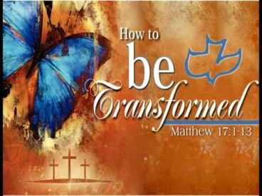 Matthew 17 transformed