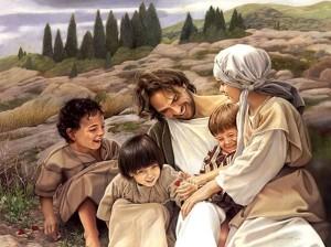 Matthew 19 Jesus smiling