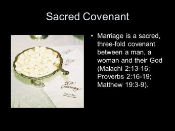 Matthew 19 love covenant
