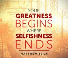 Matthew 20 greatness