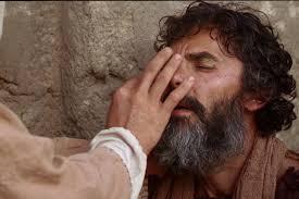 Matthew 20 healing blind