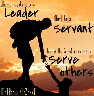 Matthew 20 servant