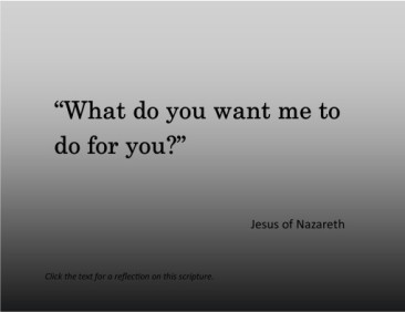 Matthew 20 what do you want