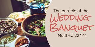 Matthew 22 meal