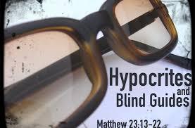 Matthew 23 blind