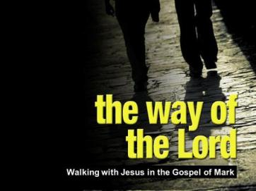 Mark 1 walk in God's way