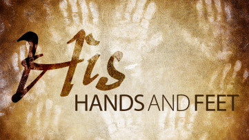 Matthew 25 hands and feet