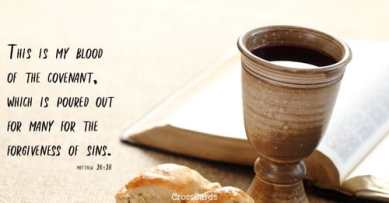 Matthew 26 cup and bread
