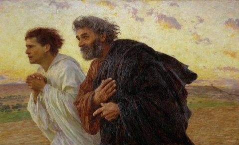 Matthew 26 denial and run