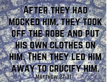 Matthew 27 31