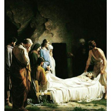 Matthew 27 burial
