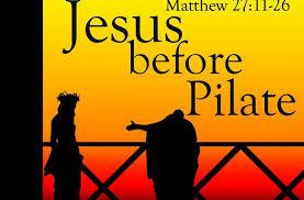 Matthew 27 Pilate