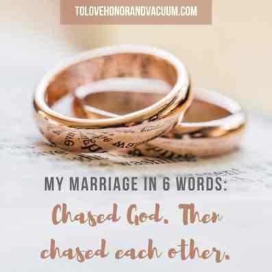 Mark 10 chased God