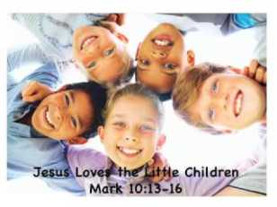 Mark 10 Jesus loves