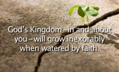 Mark 4 watered by faith