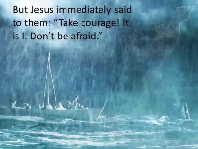 Mark 6 courage