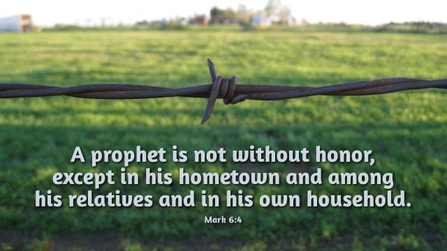 Mark 6 unbelief