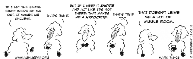 Mark 7 cartoon