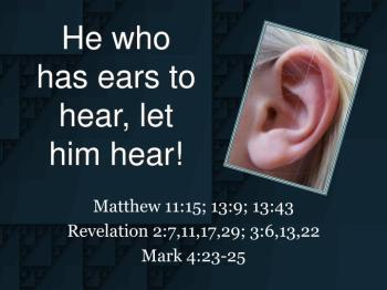 Mark 9 hear