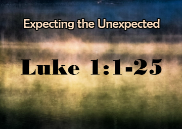 Luke 1 expect God