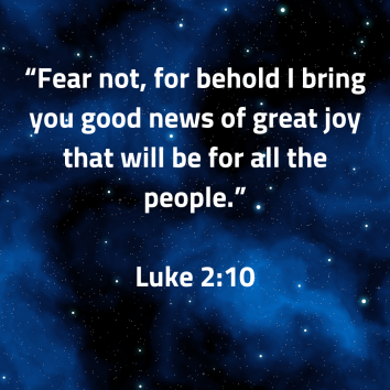 Luke 2 fear not good news
