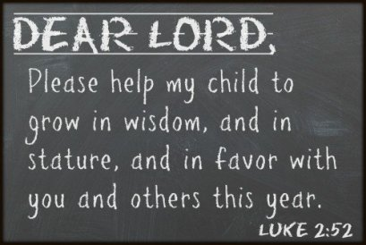Luke 2 prayer of 2 52