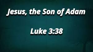 Luke 3 Son of Man