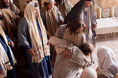 Luke 4 Jesus heals
