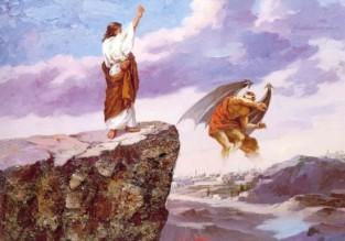 Luke 4 Jesus wins