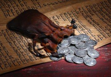 Mark 14 Judas coins