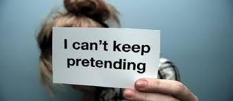 Mark 14 pretending