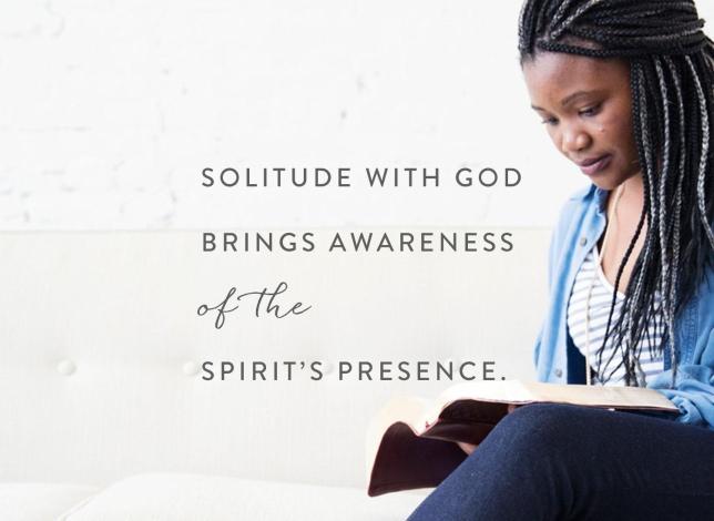 Luke 5 solitude with God