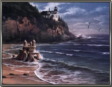 Luke 6 sand and rock