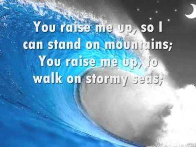 Luke 7 walk on stormy seas