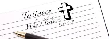 Luke 7 why I believe