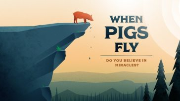 Luke 8 when pigs fly