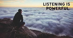 Luke 9 listening is powerful