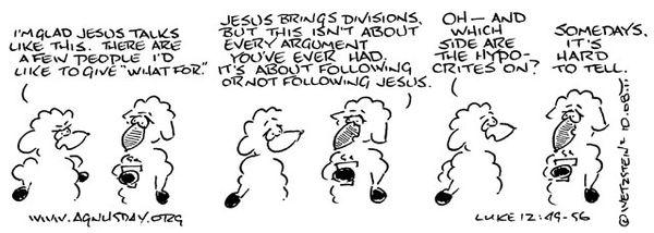 Luke 12 hypocrites