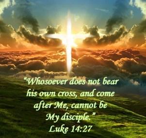 Luke 14 27