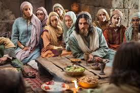 Luke 14 table with Jesus