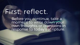 Luke 15 reflect