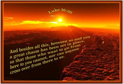 Luke 16 chasm