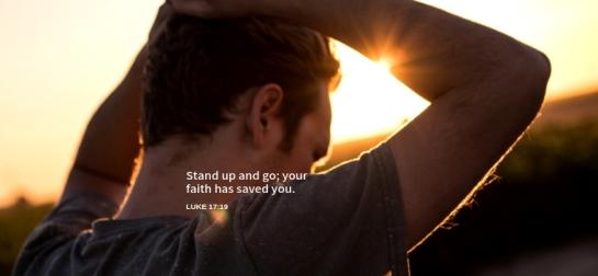 Luke 17 healed
