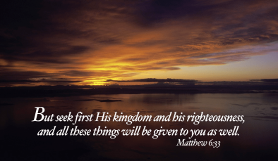 Luke 17 seek His kingdom