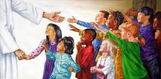 Luke 18 children and Jesus