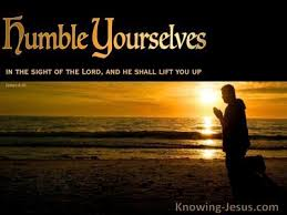 Luke 18 humble ourselves