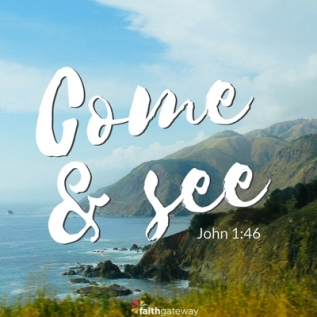 John 1 come and see