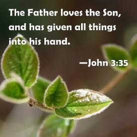 John 3 35