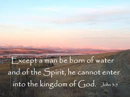 John 3 cannot