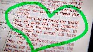 Luke 19 for God so loved